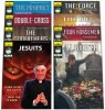 Comic Pack - Alberto Comic Series Volume 1 - 6 plus the testimony of former priest Charles Chiniquy and the history of the Jesuits